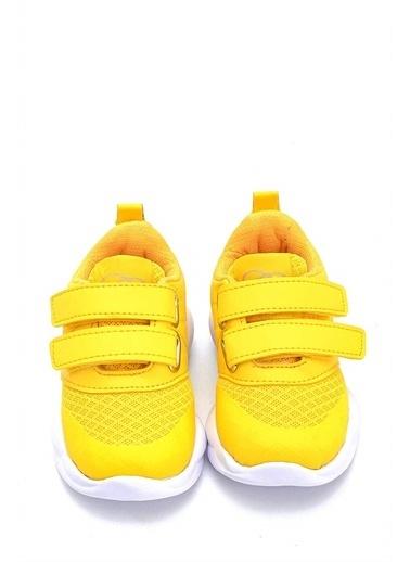 First Step Ultra Hafif Mey Foam İç Taban Çocuk  Spor Ayakkabı M-1000 Sarı